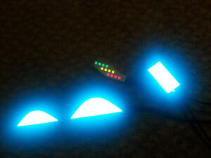 DIY LIGHT UP LIGHTING KIT AIR MAG Marty Mcfly BACK TO THE FUTURE ... f839a5b84