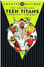 DC COMICS ARCHIVES: TEEN TITANS Vol.1: 1960s REPRINTS IN HARDCOVER:  NEW MINT.