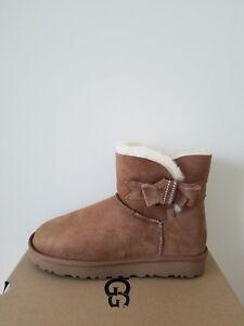 548584ec5c3 Details about Ugg Australia Womens Jackee Knot Sparkle Boots Size 9 NIB
