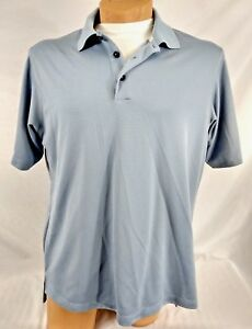 Details about ADIDAS GOLF POLO SHIRT SS Mens L Athletic ClimaLite Light Grey Geometric Texture