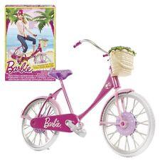 Barbie - Zubehör-Set - Fahrrad mit Korb, Turnschuhen und Sicherheitshelm