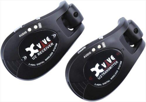 Xvive U2 2.4GHZ Wireless Guitar System Digital Guitar Transmitter Receiver NEW