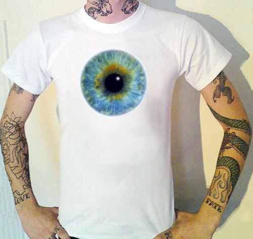 9 Tailles! opticien optique T-shirt Globe Oculaire Yeux élève philosophie de Yoga