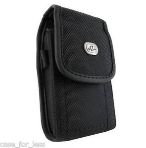 Heavy-Duty-Rugged-Case-Protective-Cover-Holster-Side-Clip-w-Belt-Loop-Vertical