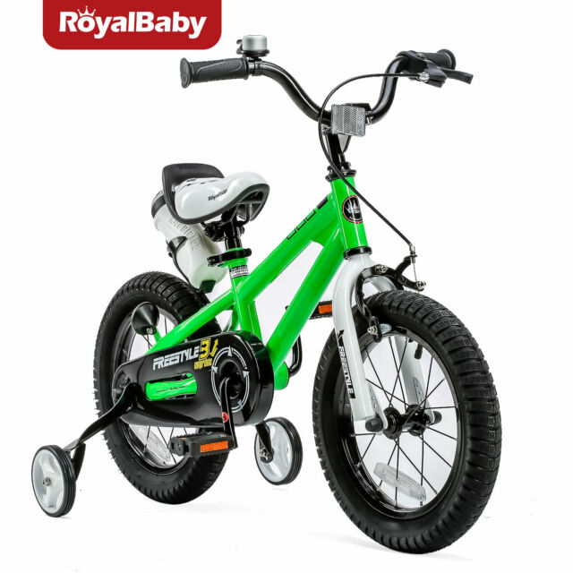 Bmx Kids Bikes Boys Freestyle Bike Training Wheels Water Bottle Holder Royalbaby For Sale Online Ebay