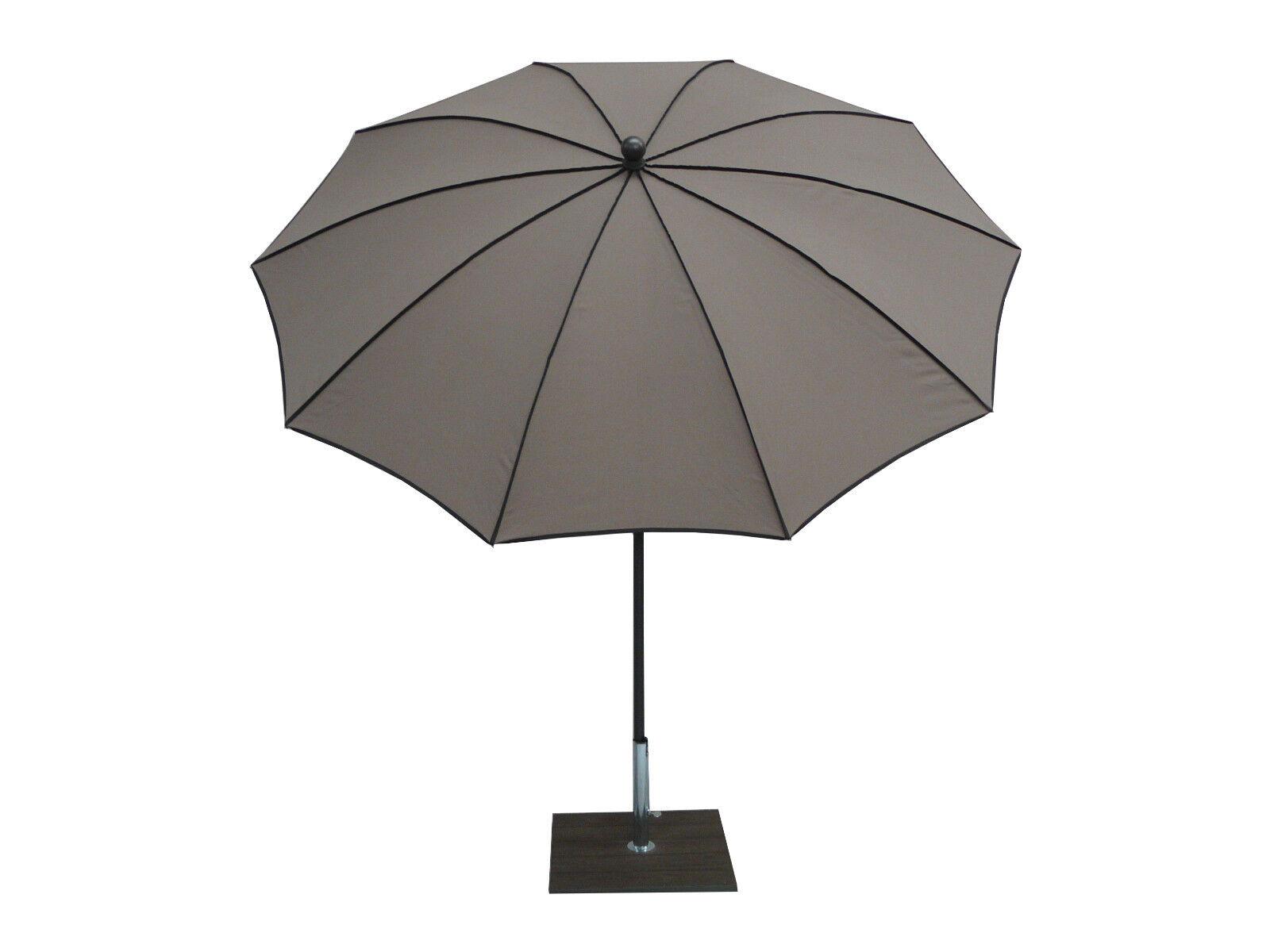 Maffei ombrellone palo centrale Border Art.45b taupe dralon d.280 cm