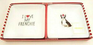 Fringe-I-Love-My-Frenchie-2-pack-trinket-tray-set