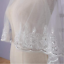 Sequins-Lace-Edge-Veil-With-Comb-2-Layers-Tulle-Luxury-Bridal-Veil-For-Wedding thumbnail 2