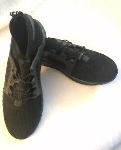 Admisión cero Cubeta  Mens Adidas Die Weltmarke Mit Den 3 Stripes black shoe/athletic/gym size  48/14 | eBay