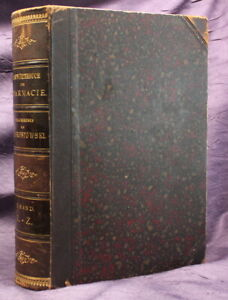 Brestowski-Handwoerterbuch-der-Pharmacie-1896-Bd-2-Apotheke-Arzte-Drogerie-js