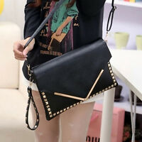 New Women Envelope Clutch Handbag Purse Tote Shoulder Messenger Bag Ladies Bag