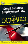 Small Business Employment Law For Dummies by L. Barclay (Paperback, 2005)