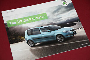 Skoda Roomster Brochure 2011  Mint Condition - <span itemprop='availableAtOrFrom'>York, North Yorkshire, United Kingdom</span> - Skoda Roomster Brochure 2011  Mint Condition - York, North Yorkshire, United Kingdom