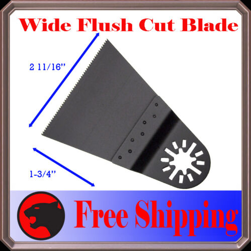 3 Japan Tooth Oscillating Multi Tool Saw Blade For King Canada Bosch Multi-X