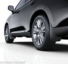 Genuine Lexus RX450h 2012> Complete Mudflap Set Front & Rear Mudflaps New