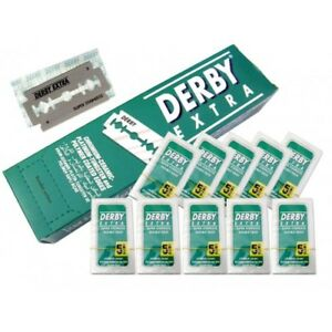 7471943128a Image is loading DERBY-Extra-Double-Edge-Razor-Stainless-Blade-SEE-