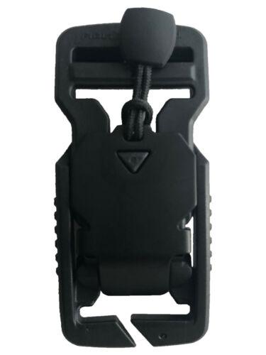 Magnetic Connector Fastener V-11402 Fidlock V-buckle 25 splitbar BLACK