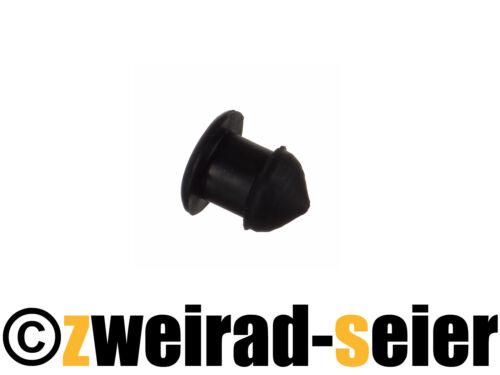 Gummipfropfen// Gummistöpsel Stopfen für Kettenkasten// Kettenschutz Simson