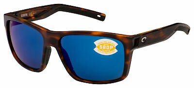 Costa Del Mar slack tide matte tortoise frame blue polarized 580P SLT191OBMP new