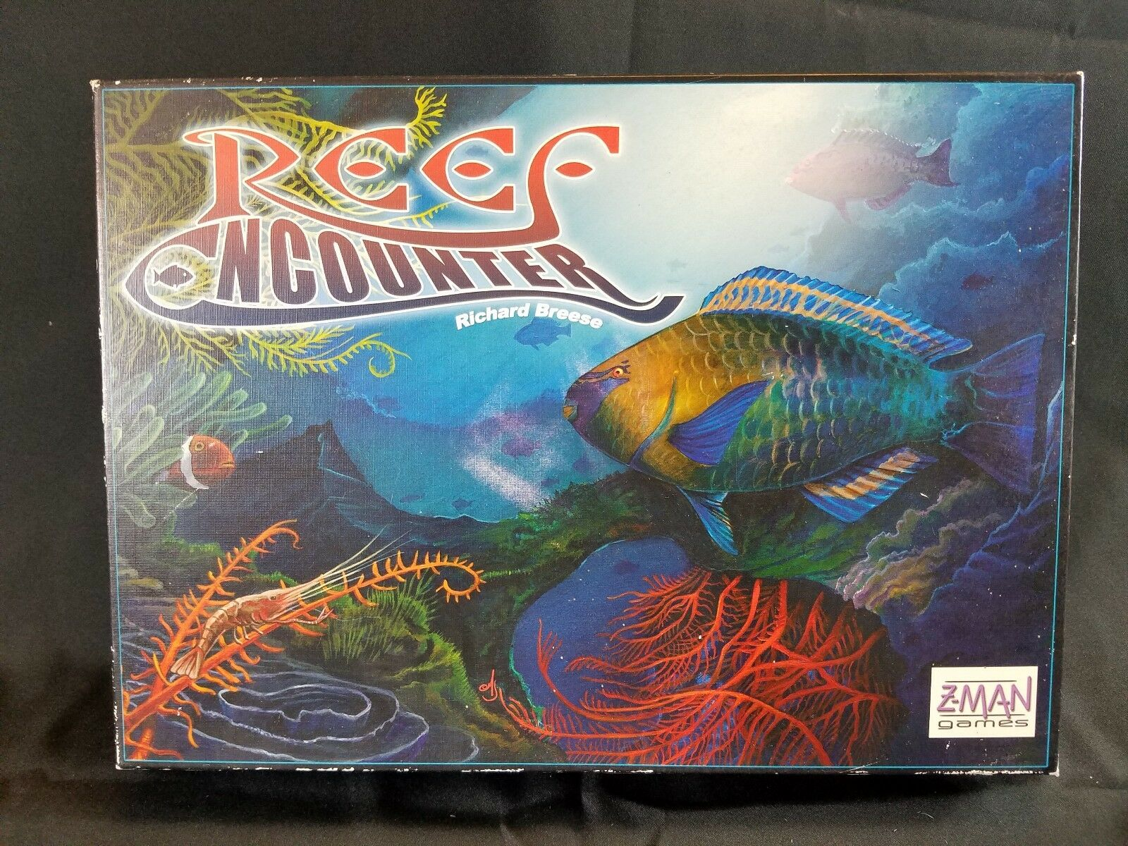Reef Encounter Z Man Games Complete