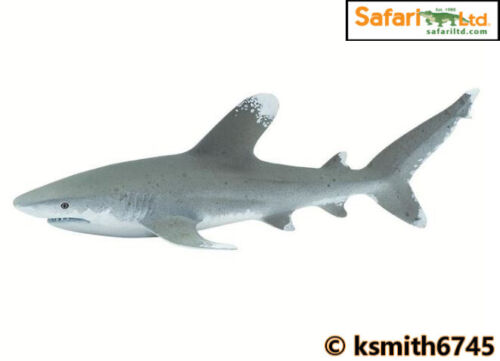 Safari Mantas Reef Shark solide Jouet en plastique poisson Sauvage Mer Animaux Marins NEUF