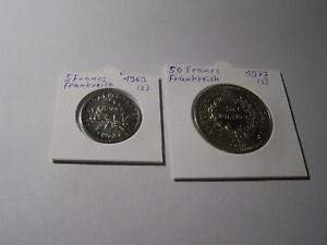 5 Francs 1963+50 Francs Argent 1977 France Vb.-afficher Le Titre D'origine Fmilydjh-08002440-602641475