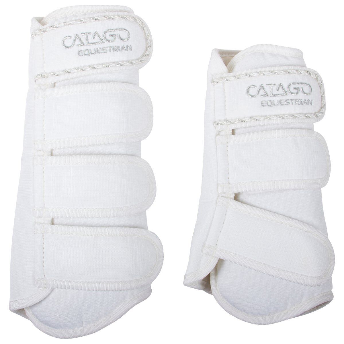 Catago Gaiters Diamond - White - Thgoldughbred Horse Equitation Leg Predection