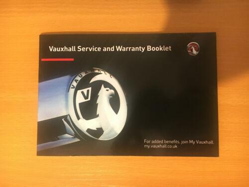 Vauxhall Corsa D E Service History Book New Blank Genuine Astra Vectra Zafira