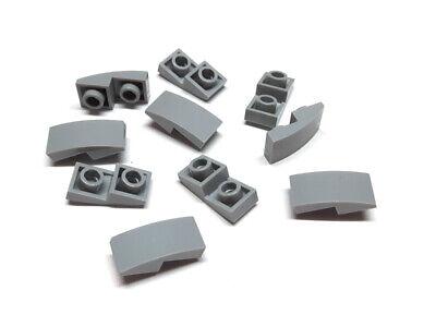 4211096 Lego Schrägstein Dachstein invertriert 2 x 1 45° Dunkelgrau 10 Stück
