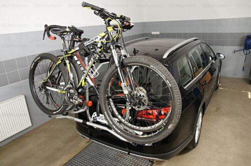 Heckklappenfahrradträger für 2 Räder Aguri Advans 2 Für Ford Focus 14/>