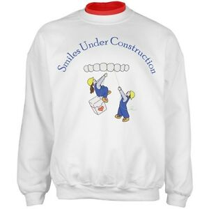 wellcoda Dentist Pull Out Mens Sweatshirt Joke Casual Jumper