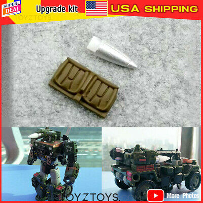 New TRANSFORMERS 3D DIY replenish KIT FOR Siege Red Alert tail and weapon