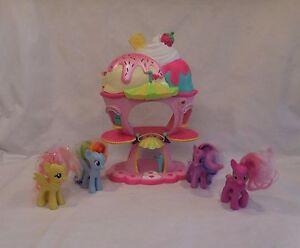 My Little Pony Sweet Sundae Ice Cream Shop Parlor Plus Ponies Carnival Play Set Ebay