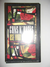 K7 VIDEO VHS GUNS N'ROSES USE YOUR ILLUSION I / WORLD TOUR 1992 IN TOKYO