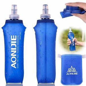 500ml Soft Flask Folding TPU Water bag Soft Water Bottle Drink Bottle Running US