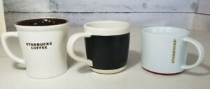 Starbucks Coffee Mugs Collection of 3 Cups 2009 - 2012  Large 16 oz