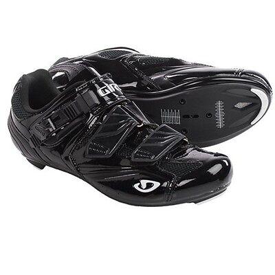 GIRO APECKX Size EUR-41 HV US-8 Men/'s Road Bike Cycling Shoes Black 3-Bolt NEW