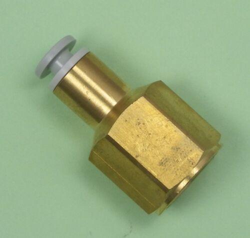 """KQ2F06-G03 SMC Steckverbinder Übergang 3//8/"""" IG Steckanschluss 6mm"""