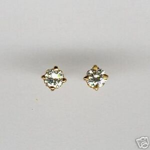 Image Is Loading Beautiful Quality Diamond Stud Earrings 18ct Gold