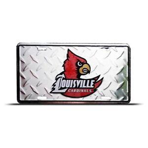 Louisville Cardinals License Plate Diamond Ebay