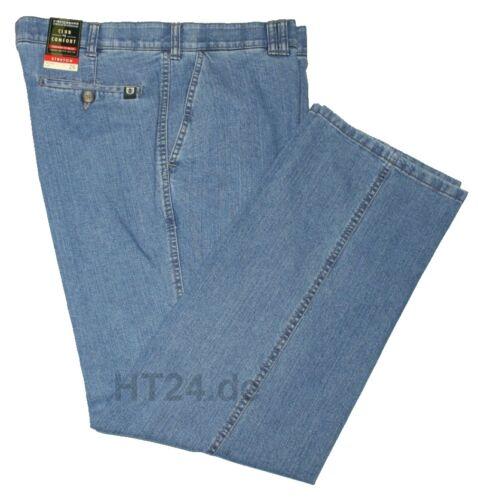 48 bis 60 Stretch 4631 CLUB of COMFORT Jeans DALLAS hellblau Gr