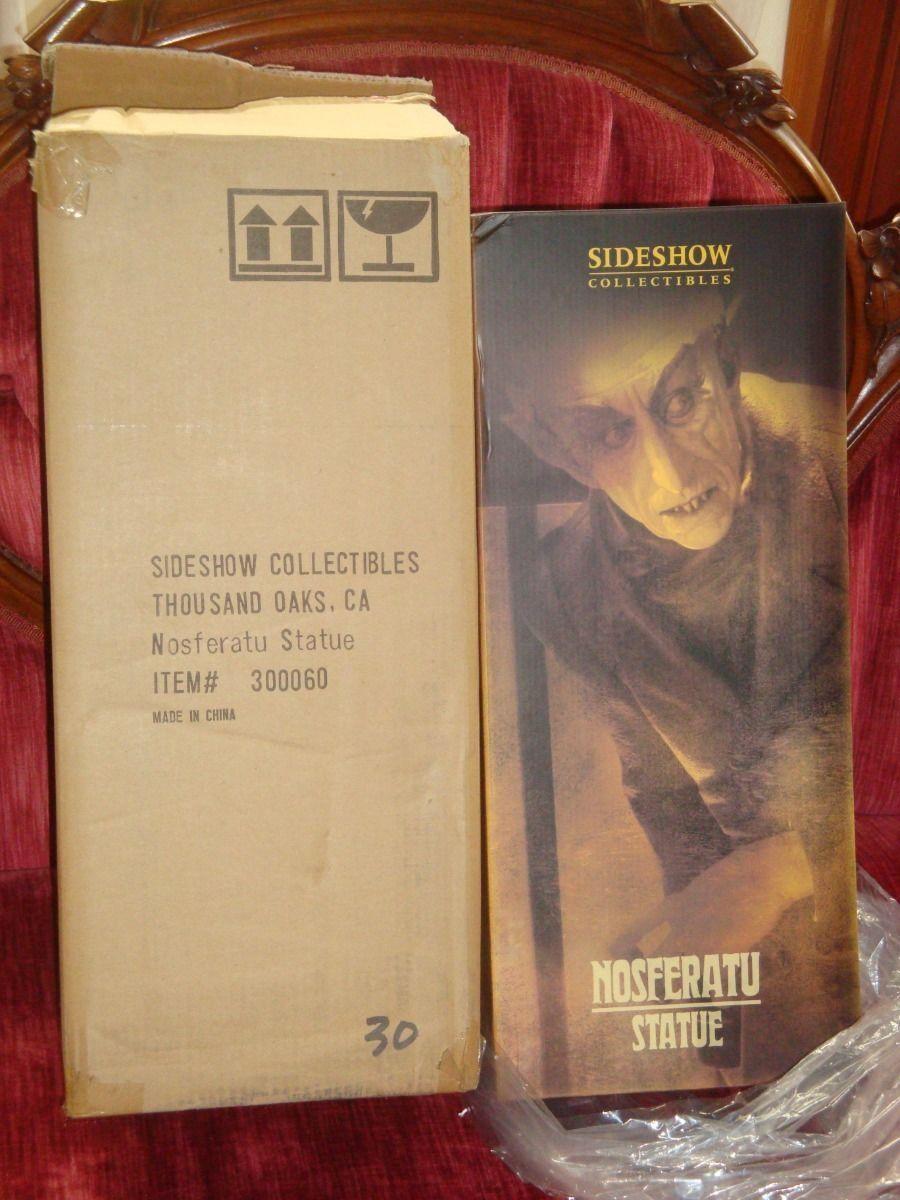 producto de calidad Estatua Figura Rara Sideshow Nosferatu 18    Max Schrek  que MIB  30500  venta