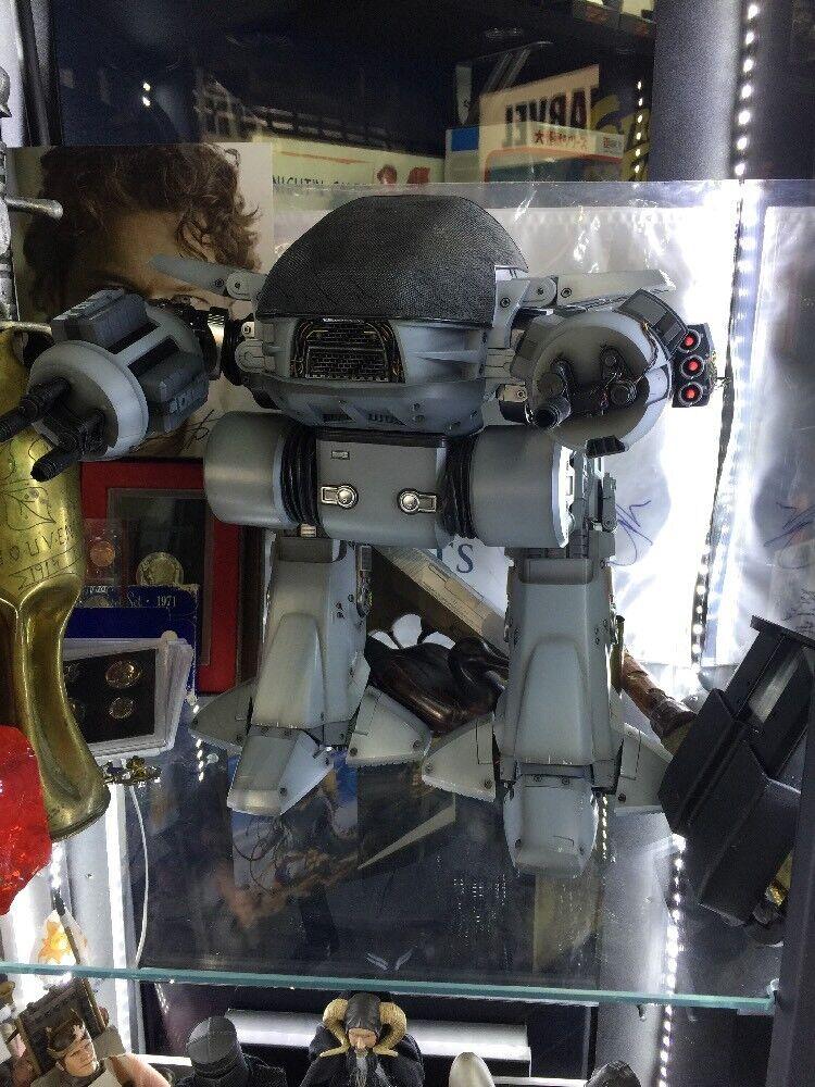 Tienda de moda y compras online. Sideshow Sideshow Sideshow Hot Juguetes 12  Robocop Diecast Droide de aplicación de 1 6 ED-209  producto de calidad