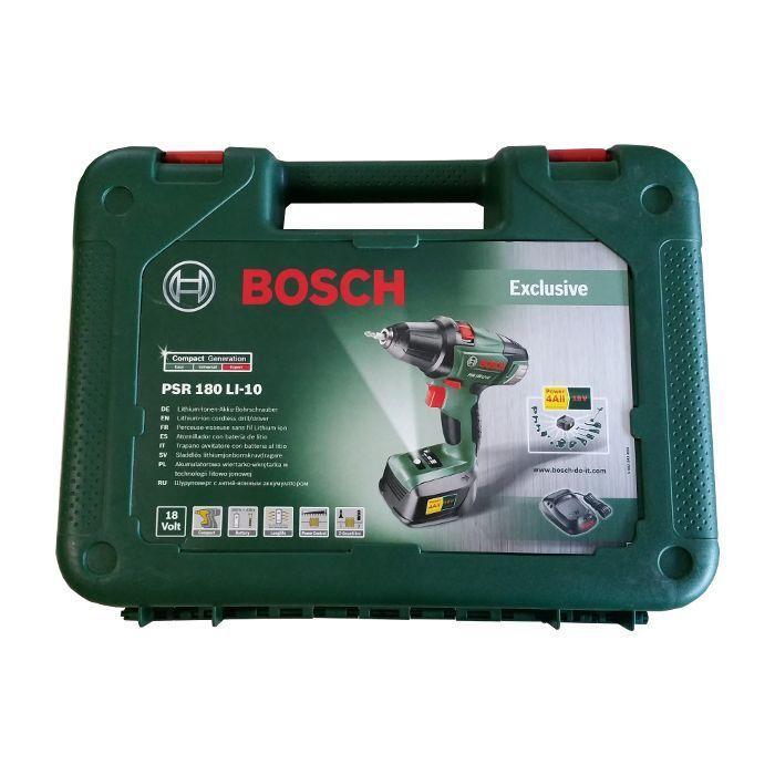 Bosch Akku-Zweigang-Bohrschrauber Lithium-Ionen PSR 180 LI-10 060397330D NEU OVP