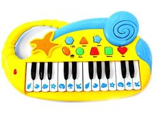 Musical Fun Electronic Piano Keyboard For Kids With Record & Playback Yellow