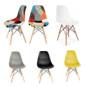 Wooden-Chair-Retro-Lounge-Dining-Room-Set-Table-Chair-Patchwork-Home-Office-UK