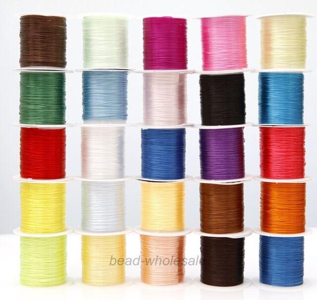 10M Strong Beading Macrame Cord Jewelry Bracelet Beading Making String Thread