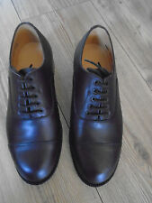 RAF/ARMY MENS BROWN LEATHER OFFICERS SHOES SIZE 5L  BRITISH ARMY ISSUE
