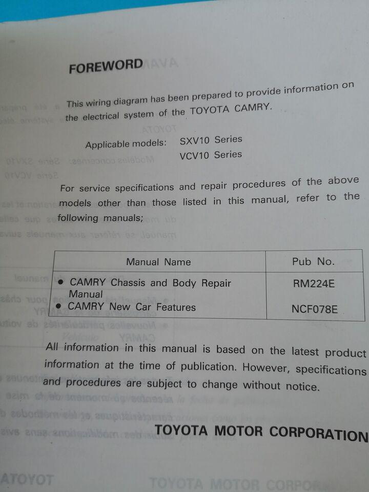 (14)Reparationsbog, Toyota elbog