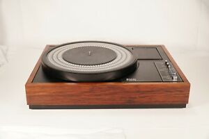 Rare-Working-FONS-CQ-30-TurnTable-Record-Player-Phonograph-CQ30-Vintage-Audio
